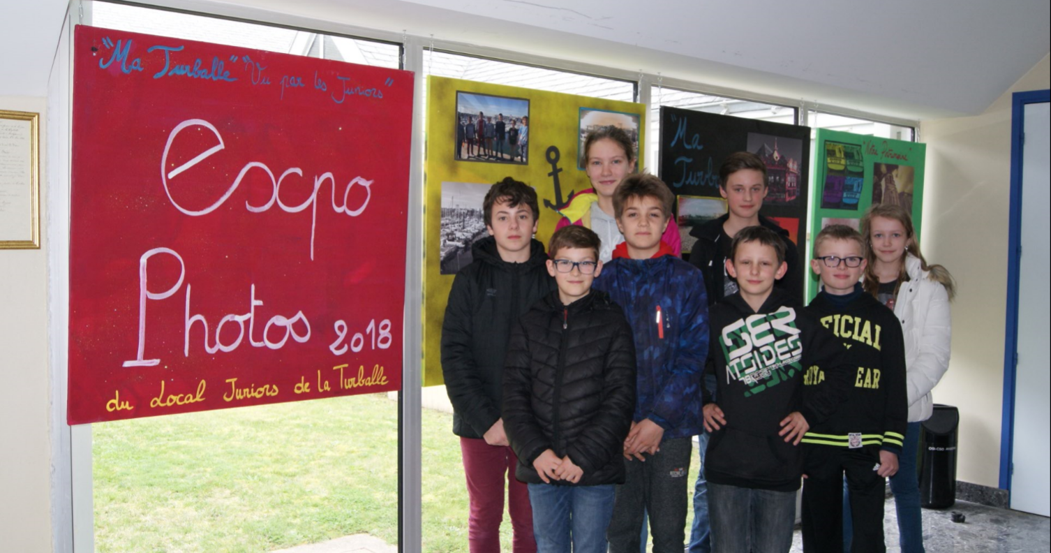 expo juniors mairie de la Turballe
